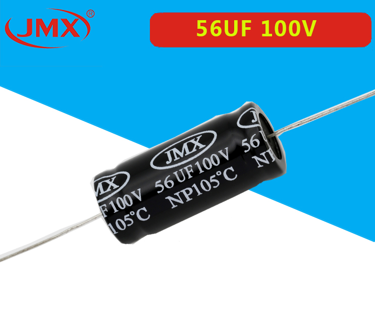 JMX卧式电解电容100V56UF