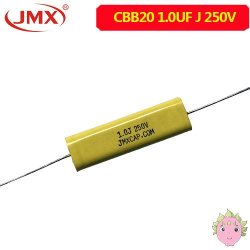CBB20扁平轴向电容_穿心电容_1UF250V轴向电容