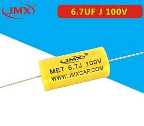 MEA穿心聚酯薄膜电容2.7uf100v