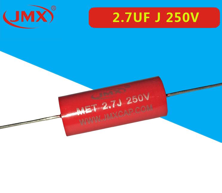 轴向耦合MET 厂家现货2.7UF 250V