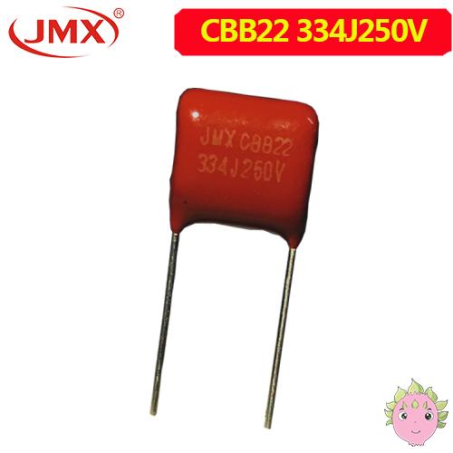 Cbb22 250V 334J 金属<font color='red'>薄膜电容</font>厂家供货