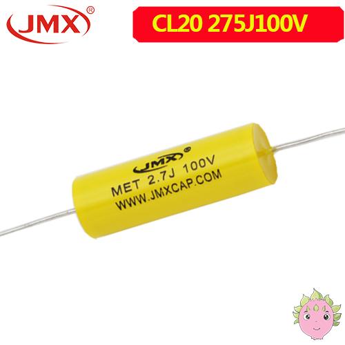 MEA穿心聚酯<font color='red'>薄膜电容</font>2.7uf100v