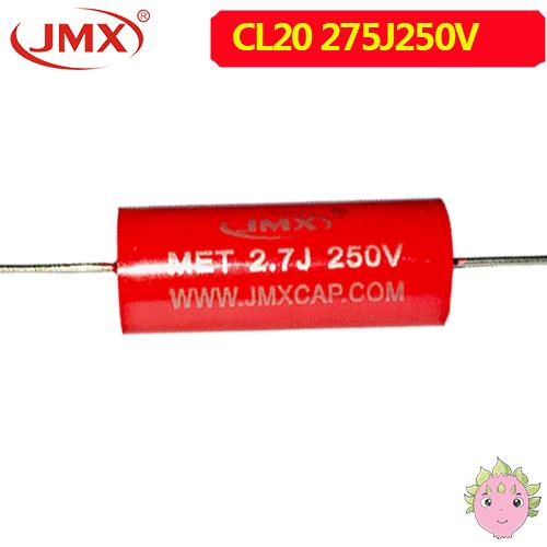 轴向耦合MET音频电容250V275J