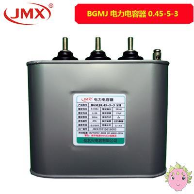 自愈式并联低压电力电容器_BGMJ0.45-5-3