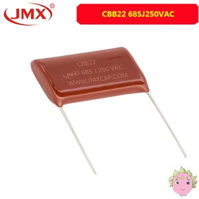 CBB21/22电容器_685J250VAC _薄膜电容器厂家